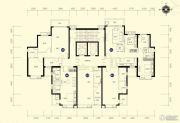 恒大名都2室2厅1卫87--89平方米户型图