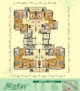 天鹅湾3室2厅2卫85--116平方米户型图