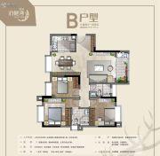 冠科・泊樾湾3室2厅2卫0平方米户型图