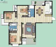 新加坡尚锦城3室2厅2卫133平方米户型图