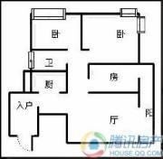 瑞升望江橡树林3室2厅1卫104平方米户型图