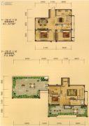 百商托斯卡纳小城5室3厅2卫165平方米户型图