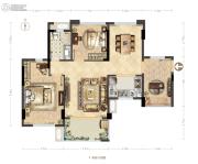 德润花园3室0厅0卫0平方米户型图