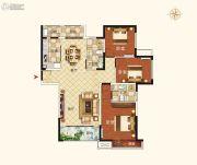 郑西鑫苑名家3室2厅2卫0平方米户型图