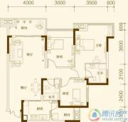 中亿阳明山水3室2厅2卫86平方米户型图