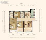 兰田传奇3室2厅2卫123平方米户型图