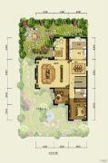香江别墅II378平方米户型图