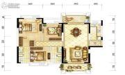 耀江・西岸公馆3室2厅2卫135平方米户型图