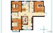 泰华・奥体花园3室2厅2卫125平方米户型图