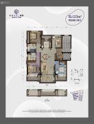香港兴业・耦园4室2厅2卫0平方米户型图