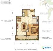 花屿海1室1厅1卫57平方米户型图
