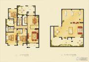 金洋奥澜半岛3室2厅2卫137平方米户型图