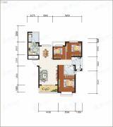 沧州恒大城3室2厅2卫122--132平方米户型图