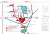 万科城市花园交通图