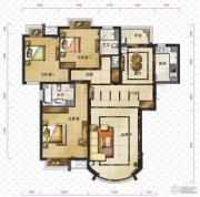 新华联运河湾3室2厅2卫148平方米户型图