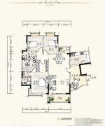 泰达・润景园4室2厅2卫169--170平方米户型图