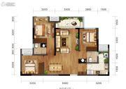 金科博翠园2室2厅0卫79平方米户型图