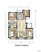 翡翠四季4室2厅2卫0平方米户型图