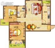 基正盛世新天2室2厅1卫87--90平方米户型图