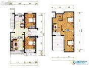 祥和馨筑5室3厅2卫135平方米户型图