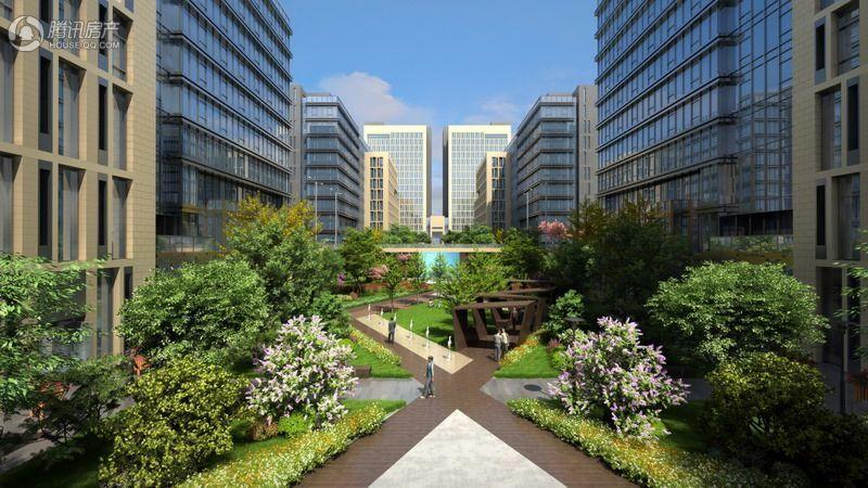 未来科技城·未来中心效果图