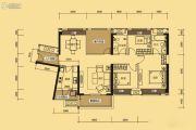 中信新城3室2厅1卫115平方米户型图