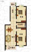 北岸晏城2室1厅1卫95--100平方米户型图
