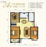 万邦城3室2厅1卫104平方米户型图