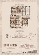 碧水豪庭3室2厅2卫140平方米户型图