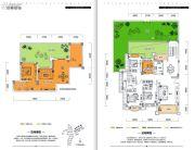 金牛国际社区5室3厅3卫256平方米户型图