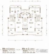 联投金色港湾3室2厅2卫109平方米户型图