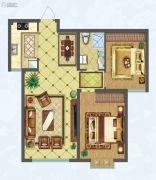 隆光・西萃芳庭2室2厅1卫0平方米户型图