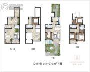 保利云禧5室2厅5卫247--270平方米户型图