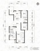当代MOMA沿湖城3室2厅2卫148平方米户型图