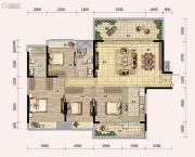 奥林匹克花园五期4室2厅2卫0平方米户型图
