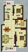 北岸晏城3室1厅1卫105--111平方米户型图
