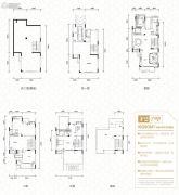碧桂园御湖城4室4厅6卫390平方米户型图