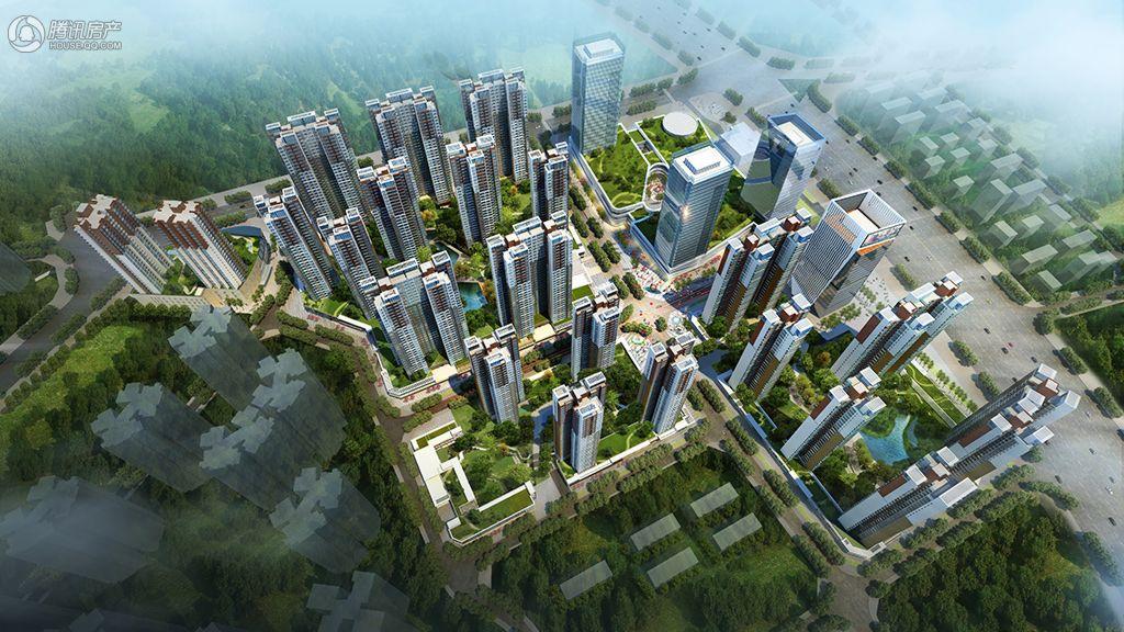 华强城项目鸟瞰图