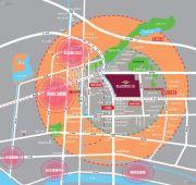 东二环泰禾广场2期交通图