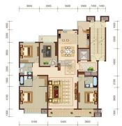 燕赵锦河湾4室2厅3卫201平方米户型图