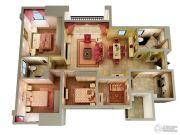 融汇半岛玫瑰公馆4室2厅2卫0平方米户型图