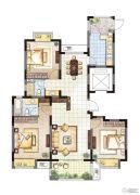 农房・英伦尊邸3室2厅2卫127平方米户型图