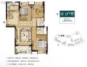 招商兰溪谷3室2厅2卫0平方米户型图
