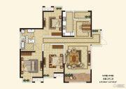 枫林天下3室2厅1卫0平方米户型图