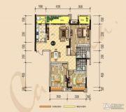 建昌・卡斯迪亚3室2厅2卫0平方米户型图