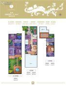 国茂・清水湾3室2厅4卫67平方米户型图