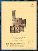 金色丽都3室2厅2卫0平方米户型图
