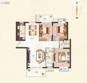 霞浦东泰华府3室2厅2卫132--139平方米户型图