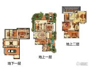 融创・玖礼6室3厅5卫372平方米户型图