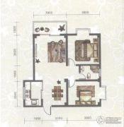 东苑小区2室2厅1卫85平方米户型图